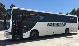 newmans buses